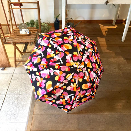【花】(レ・フルール)日傘(手元:白木)
