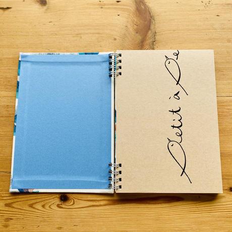 いつからでも始められる*スケジュールリングノート【花】(レフルール)【全2色】