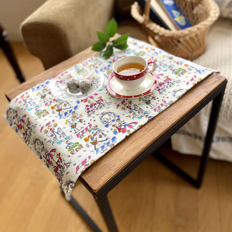 STAY HOME PLAN*テーブルマット【マルシェ】【セーヌ】(全2柄)