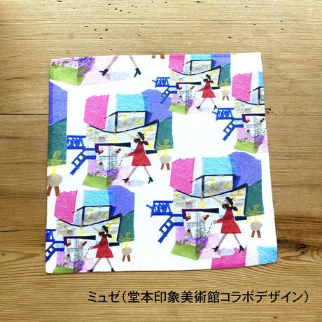 マイクロファイバークロス【ミュゼ】【本】【図書館】【チロル】(全4柄)
