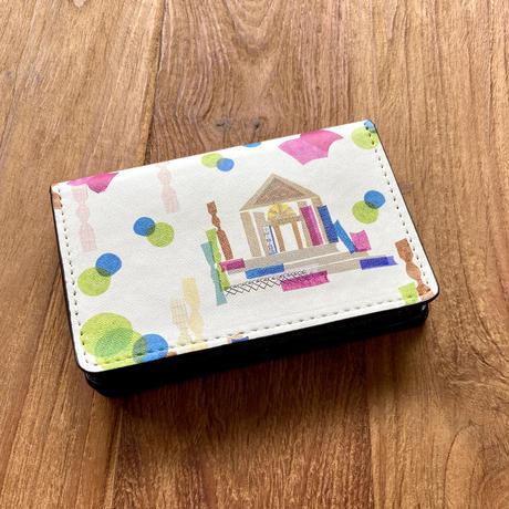 名刺ケース(カードケース)【本・図書館・チロル・竹】【全4柄】