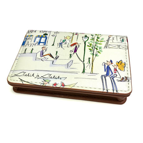名刺ケース(カードケース)【セーヌ、チロル、竹、図書館】【全3柄】