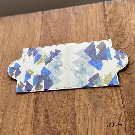 定番*食事時間のエチケットに*マスクケース【山エメラルド・ブルー】(全2色)