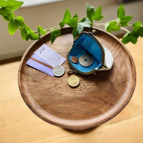 コインやアクセサリーケースに*小がま口【花】(レ・フルール)【全3色】
