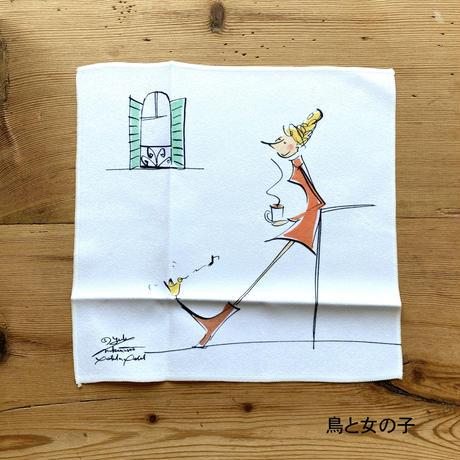 *新柄「KYOTO竹」*【YUKI NAKAMURA  illustration】【全7柄】マイクロファイバークロス