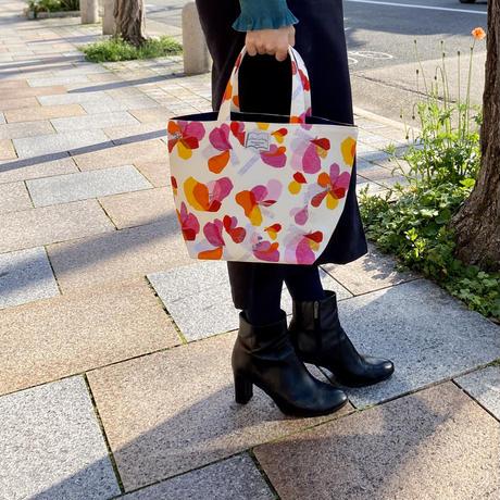 トートバッグ【花】(レ・フルール)(全2色)