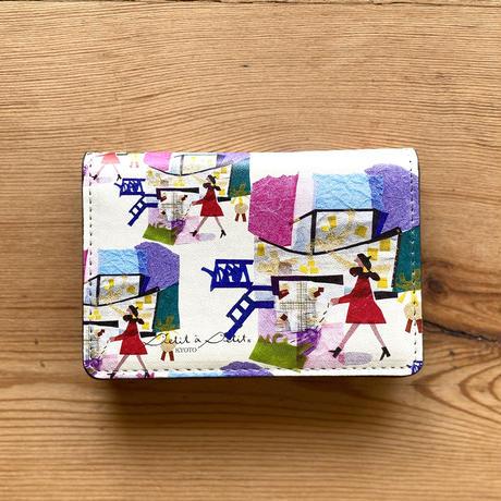 *新柄「ミュゼ」堂本印象美術館コラボデザイン*名刺ケース(カードケース)【ミュゼ】