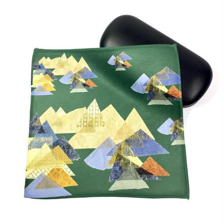 マイクロファイバークロス(メガネ拭き)【山】(レ・モンターニュ)【全6色】
