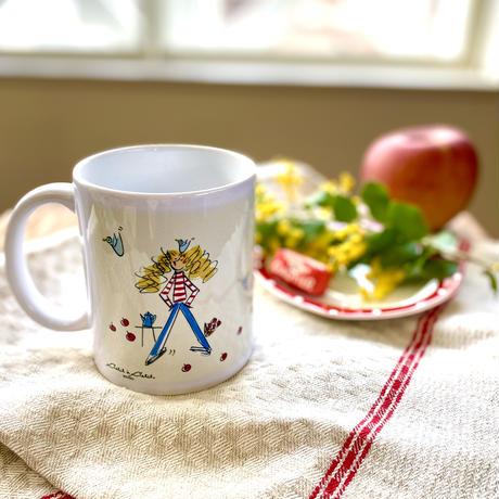 *新商品【マルシェ】マグカップ*【セーヌ】【グルグルガール】(全3柄)