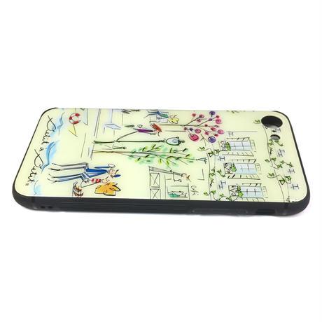 最新機種対応*iPhone背面ガラスケース【セーヌ】iPhone13/13Pro/13ProMax/12/12Pro/11/XR/XSMax