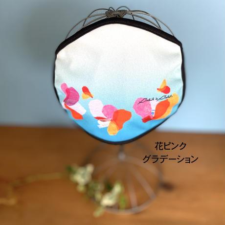 新発売*プリントマスク【虹花グラデーション】【花ピンクグラデーション】【竹】(全3柄)