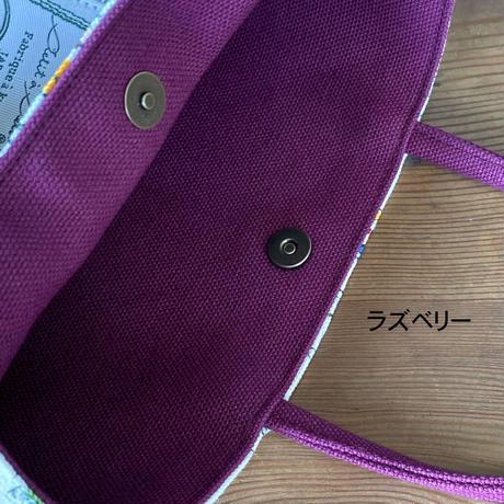 帆布コンビミニトートバッグ【セーヌ】(4パターン)