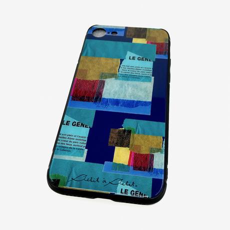 iPhone背面ガラスケース【壁】(ル・ミュール)【全3色】iPhone12mini/ SE2(第二世代)/11 Pro/ XS/X/7/8