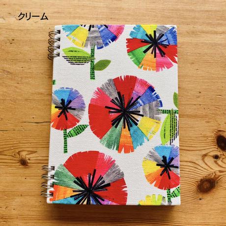 いつからでも始められる*スケジュールリングノート【虹花】(フルールアンシエル)【全2色】