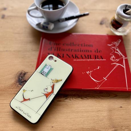 *新発売iphone12/12Pro*11/XR/XSMax背面ガラスケース【パリジェンヌシリーズ】(全3柄)