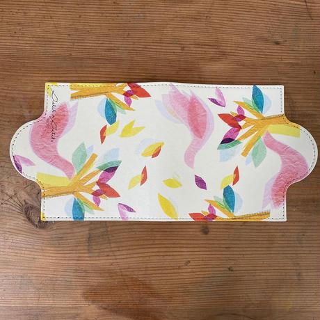 マスクケース【鳥ピンク】【花ブルー・ピンク】【全3色】