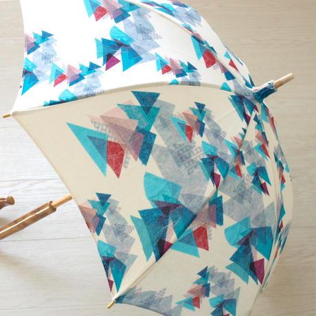 *書籍掲載商品*【山】(レ・モンターニュ)日傘(手元:竹)【全2色】