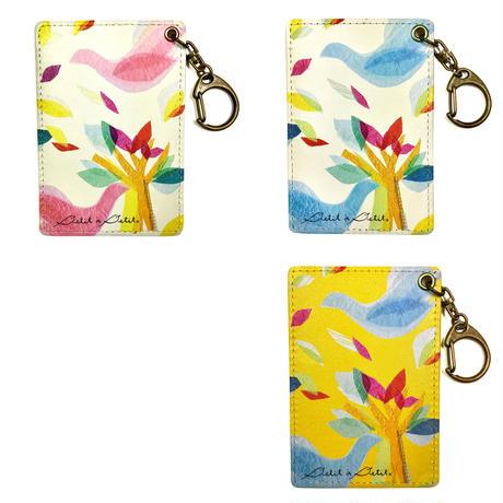ICカードケース【鳥】(ロワゾ)【全3色】
