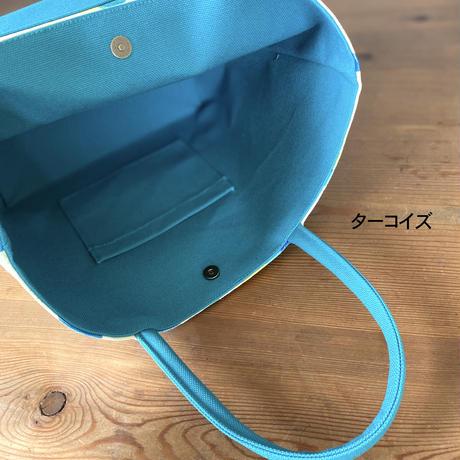 新発売*帆布コンビ[L]トートバッグ【竹】(全2パターン)