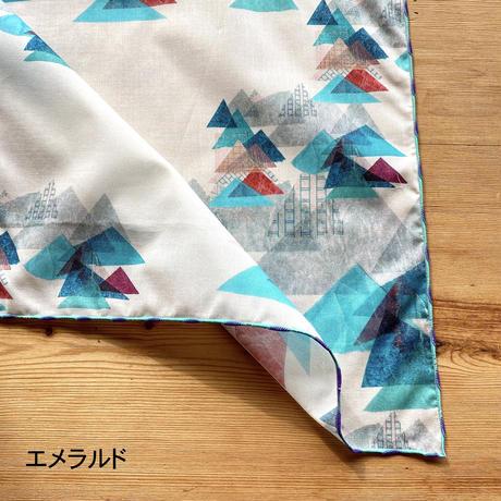 ハンカチ【山】(レ・モンターニュ)(全2色)