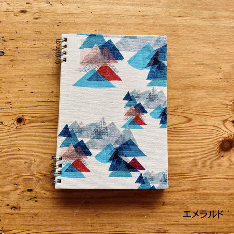 いつからでも始められる*スケジュールリングノート【山】(レ・モンターニュ)【全2色】