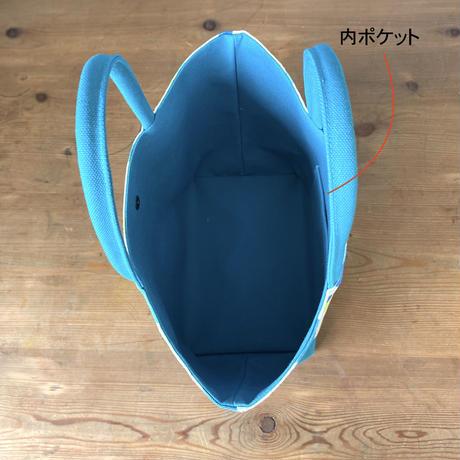 帆布コンビ[L]トートバッグ【マルシェ】(全2パターン)