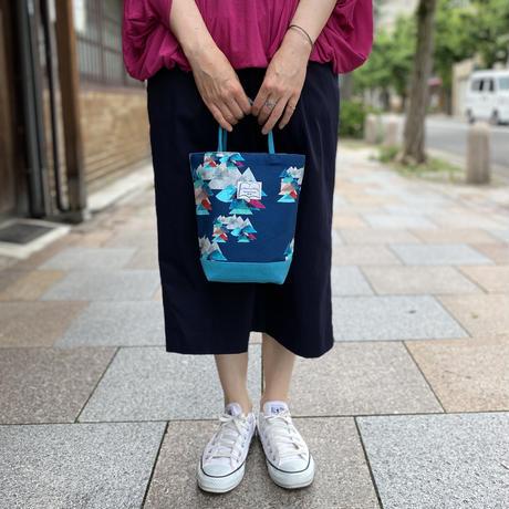 帆布コンビミニトートバッグ【山】(全2色・4パターン)