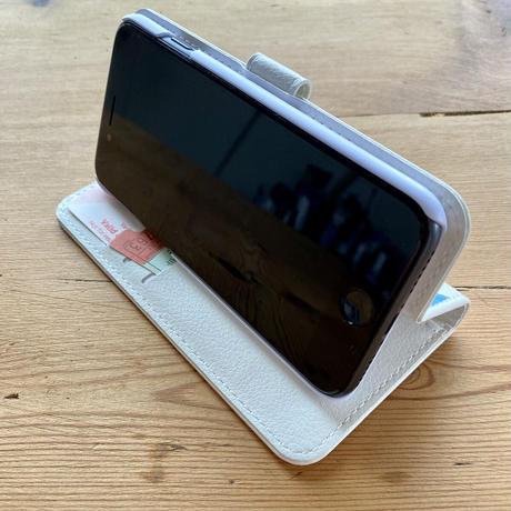 iPhone12mini/ SE2(第二世代)/ 11 Pro/XS/X/8/7/6S/6/SE手帳型ケース【グルグルガール】