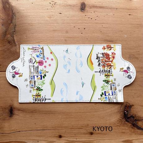 *新柄【KYOTO】*食事時間のエチケットに*マスクケース【KYOTO】【マルシェ】【グルグルガール】【セーヌ】(全2柄)