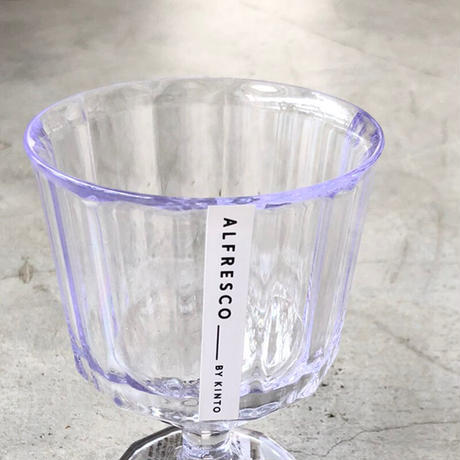 KINTO(キントー)20736 ALFRESCO プラスチックワイングラス クリア