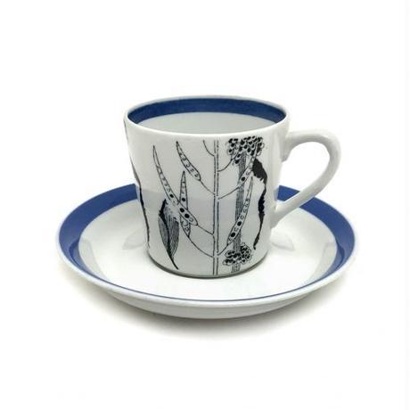 ARABIA(アラビア)Flora(フローラ) コーヒーカップ&ソーサー