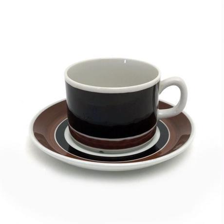 GEFLE(ゲフレ)MARTA コーヒーカップ&ソーサー BRN 02