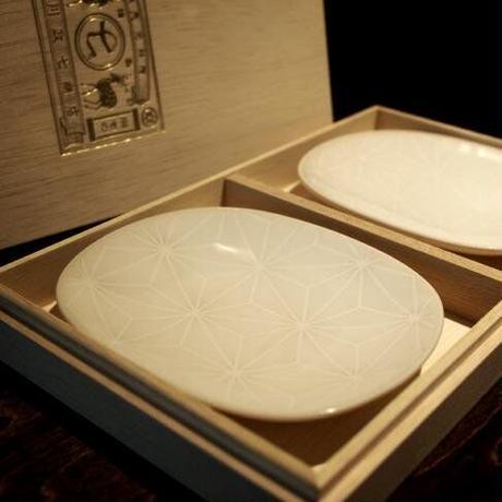 中川政七商店(なかがわまさしちしょうてん)1408-0120-000-00 麻の葉 菓子皿