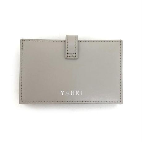 YAHKI(ヤーキ)YH-278 カードケース LIGHT GREY