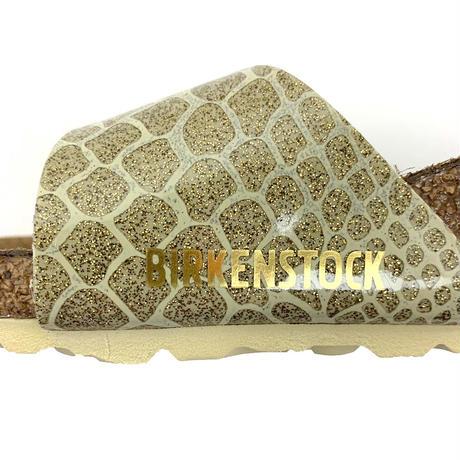 BIRKENSTOCK(ビルケンシュトック)Madrid サンダル Magic Snake Gold