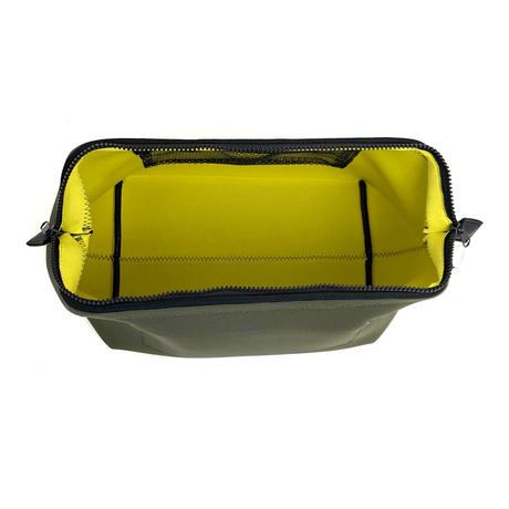 PUEBCO(プエブコ)502373 WIRED POUCH Large OLV/YEL