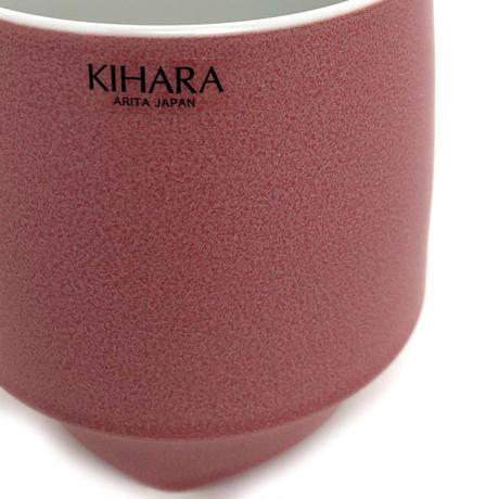 KIHARA(キハラ)L-203 香酒盃 Lサイズ 赤結晶釉