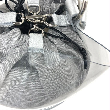 theory luxe(セオリーリュークス)0160927 Pvc Luxe Bucket バッグ 060.SILVER