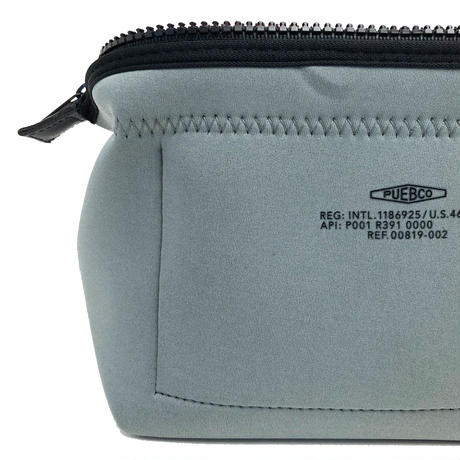 PUEBCO(プエブコ)502328 WIRED POUCH Small LGY/ORG