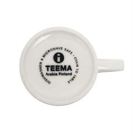 ARABIA(アラビア)TEEMA(ティーマ)コーヒーカップ&ソーサー WHT 01