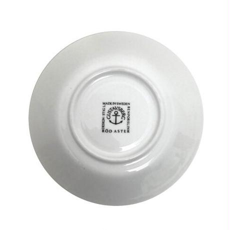 GUSTAVSBERG(グスタフスベリ)【復刻版】ASTER コーヒーカップ&ソーサー RED 01