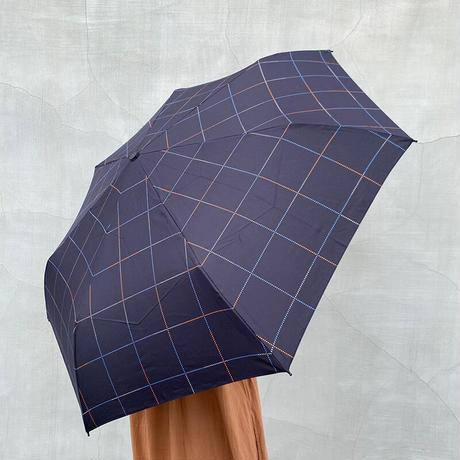 w.p.c(ダブリューピーシー)折りたたみ傘 color dotted check