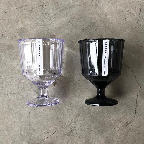 KINTO(キントー)20737 ALFRESCO プラスチックワイングラス スモーク