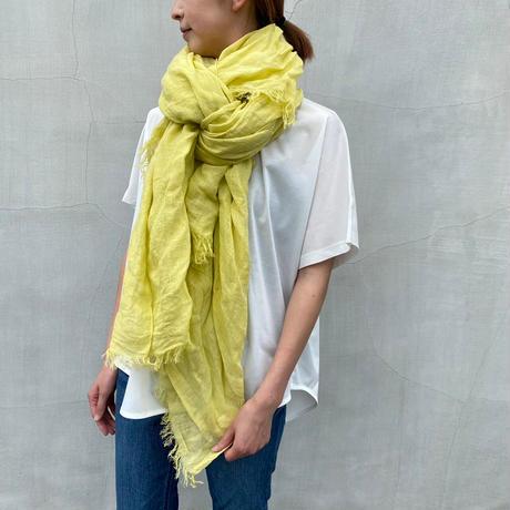 enrica(エンリカ)リネンストール yellow