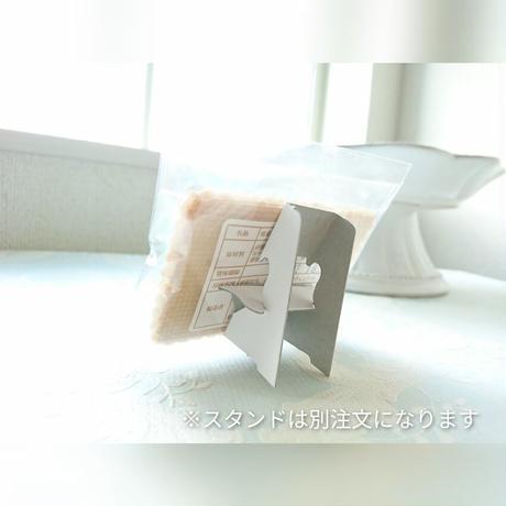 【カード型】花 (ティファニーブルー)