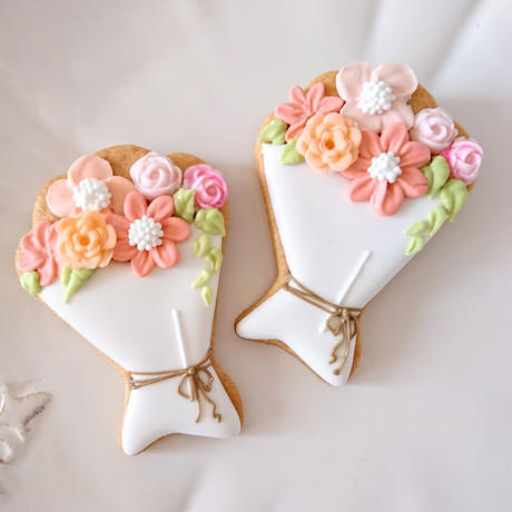 花束 アイシングクッキー