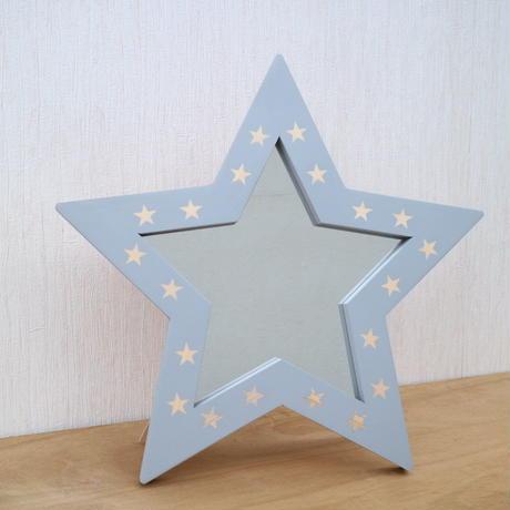 2way星型ミラー グレー×星