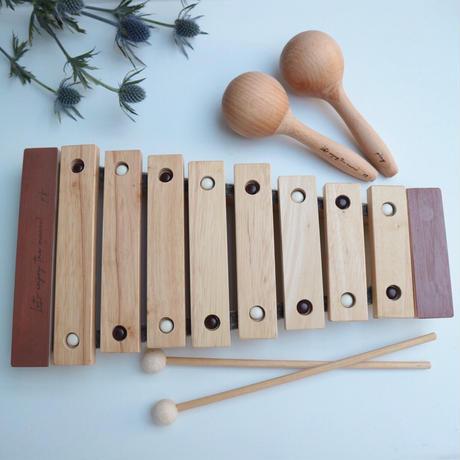 xylophone&maracas(2p) set