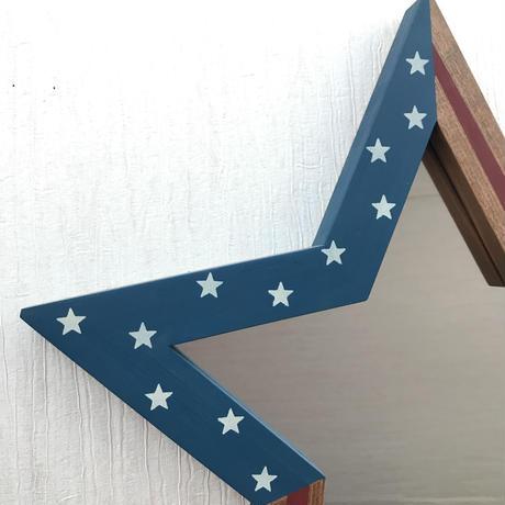 星型ミラー  大  星条旗