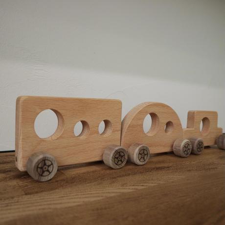wooden cars (3p set)